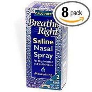 Breathe Right Saline Nasal Spray - 1.5 oz. Bottle