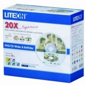 Lite On DVD/RW Dual Layer Burner with Light Scribe