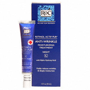 RoC Retinol Actif Pur Anti-Wrinkle Night Moisturizing Treatment