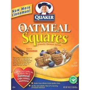 Quaker Oatmeal Squares, Cinnamon