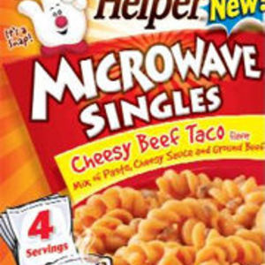 Betty Crocker Hamburger Helper Microwave Singles