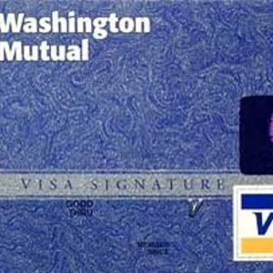 Washington Mutual - Visa Card