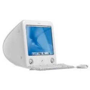 Apple eMac desktop computer