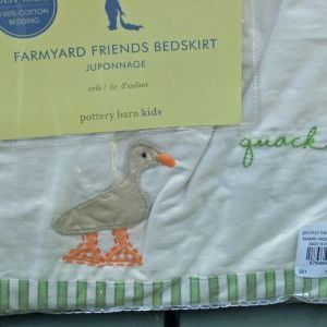 Pottery Barn Kids Farmyard Friends Bedding