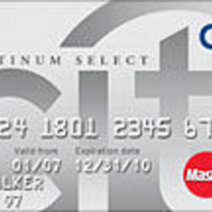 Citi - Platinum Select MasterCard