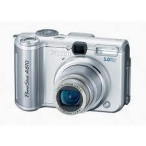 Canon - PowerShot A610 Digital Camera