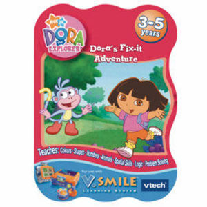 VTech Vsmile Dora The Explorer: Dora's Fix-it Adventure