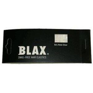 Blax 4mm Clear Snag Free Hair Elastics