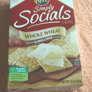 Ritz - Simply Socials - Whole Wheat