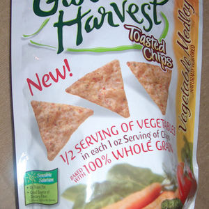 Nabisco - Garden Harvest Toasted Chips - Vegetable Medley