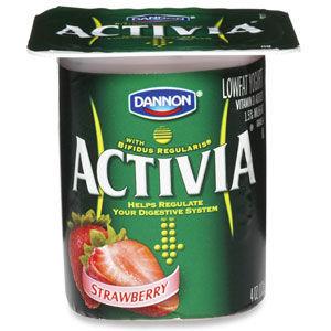 Dannon Activia Yogurt