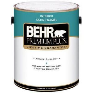 behr premium plus interior satin enamel reviews. Black Bedroom Furniture Sets. Home Design Ideas