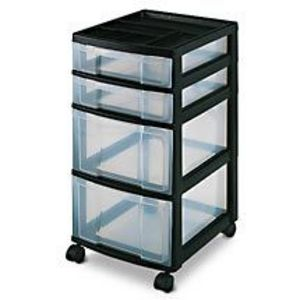 Walmart Organizer Storage Chest, Black