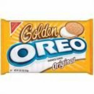 Nabisco Oreo Golden Sandwich Cookies