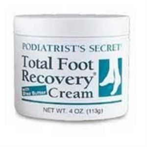 Podiatrist's Secret Total Foot Recovery Cream - Original Formula