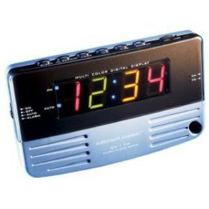 Discovery Channel Alarm Clock