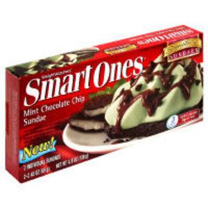 Weight Watchers Smart Ones Mint Chocolate Chip Sundae