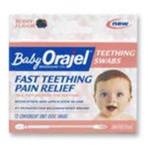 Baby Orajel Teething Swabs