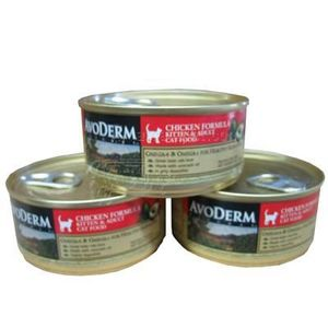 Avoderm Chicken Formula Canned Cat Food