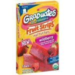 Gerber Graduates Fruit Strips Real Fruit Bars
