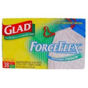 Glad Forceflex Tall Kitchen Trash Bags