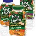 Fiber Choice Fiber Supplement Chewable Tablets
