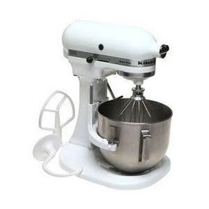 kitchenaid heavy duty series 5 quart stand mixer k5sswh. Black Bedroom Furniture Sets. Home Design Ideas