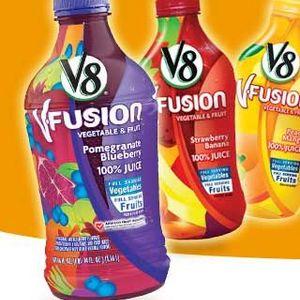 V8 V-Fusion Juices
