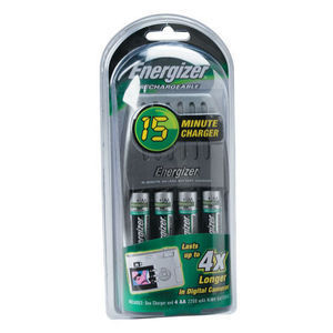 Energizer - 15 Minute charger
