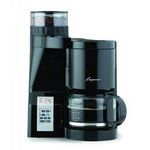 Capresso CoffeeTEAM S Coffeemaker/Burr Grinder Combination