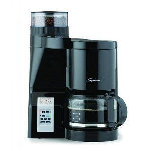 Capresso CoffeeTEAM S Coffeemaker/Burr Grinder Combination