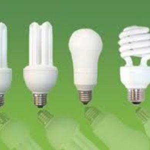 CFL's (Compact Flourescent Lightbulbs)