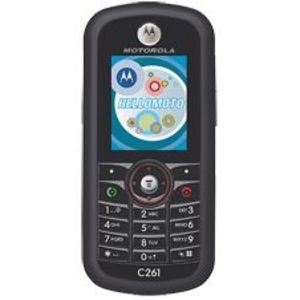 Motorola - C261 Prepaid Cell Phone