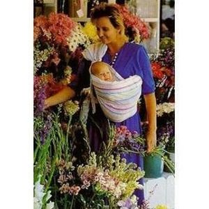 Over the Shoulder Baby Holder Sling/Wrap