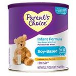 Parent's Choice Soy-Based Infant Formula