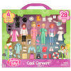 Mattel Polly Pocket Cool Careers Gift Set