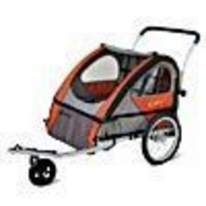 QL152 Instep Quick N' Lite Aluminum Bike Trailer and Stroller