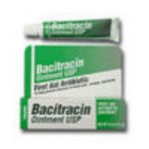 Bacitracin, Firtst Aid Antibiotic Ointment, Usp 1/2 oz