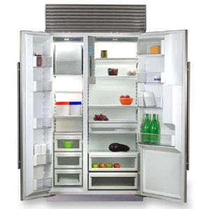 sub zero side by side refrigerator 685 s 685s reviews. Black Bedroom Furniture Sets. Home Design Ideas