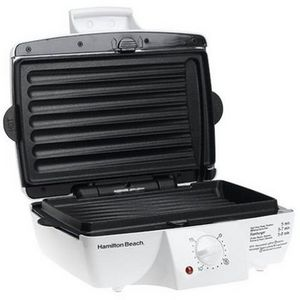 Hamilton Beach Indoor Contact Grill with Removable Grids
