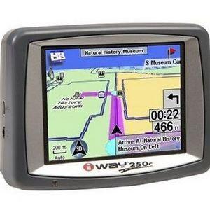 Lowrance iWay 250C Portable GPS Navigator