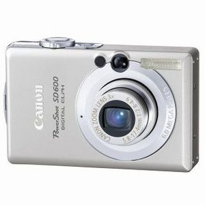 Canon - PowerShot SD600 Digital Camera