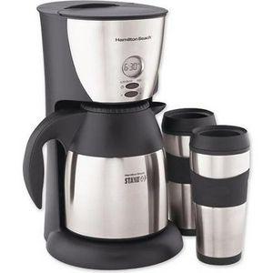 Hamilton Beach Stay-or-Go Programmable Coffee Maker