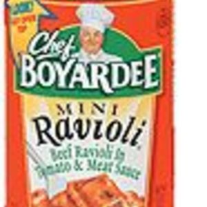 Chef Boyardee Mini Ravioli and Meatballs