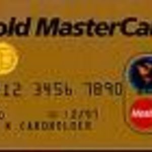 Mastercard - Gold Credit Card