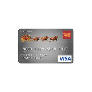 Wells Fargo - Platinum Visa Card