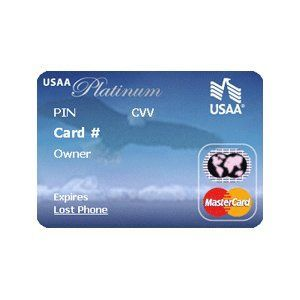 USAA - Total Rewards Platinum MasterCard