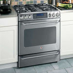 GE Cafe Slide-In Dual Fuel Range
