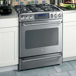 ge cafe slidein dual fuel range - Slide In Gas Range