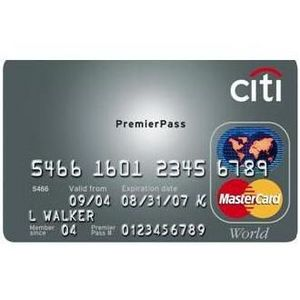 Citi - PremierPass World MasterCard